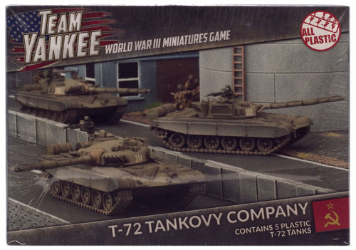 Team Yankee T-72 Tankovy Company Miniature