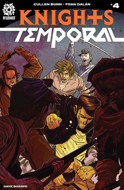 Aftershock Comics Knights Temporal #4 Comic Book