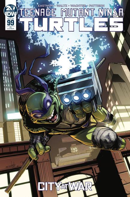 IDW Teenage Mutant Ninja Turtles Ongoing #99 Comic Book [Valerio Schiti Variant Cover]