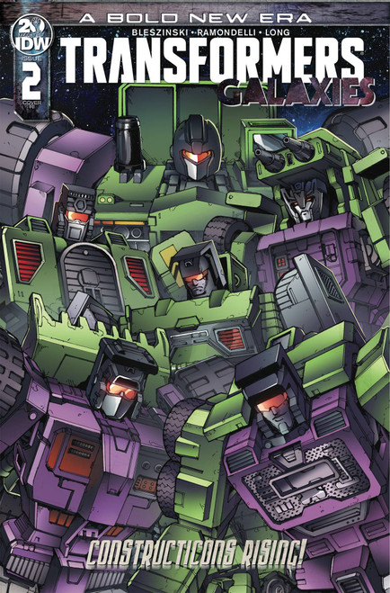 IDW Transformers Galaxies #2 Comic Book [Andrew Griffith Variant Cover]
