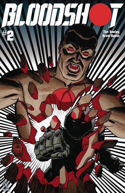 Valiant Comics Bloodshot #2 Comic Book [Dave Johnson Cover B]