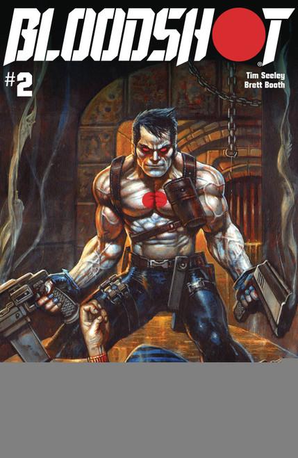 Valiant Comics Bloodshot #2 Comic Book [Simon Bisley Cover C]