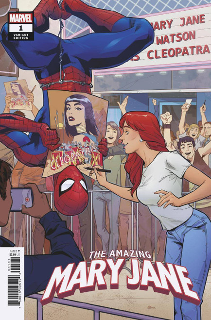 Marvel Comics The Amazing Mary Jane #1 Comic Book [Rud, Anna Variant Cover]