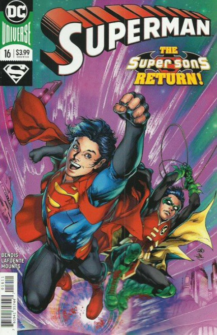DC Superman #16 Comic Book