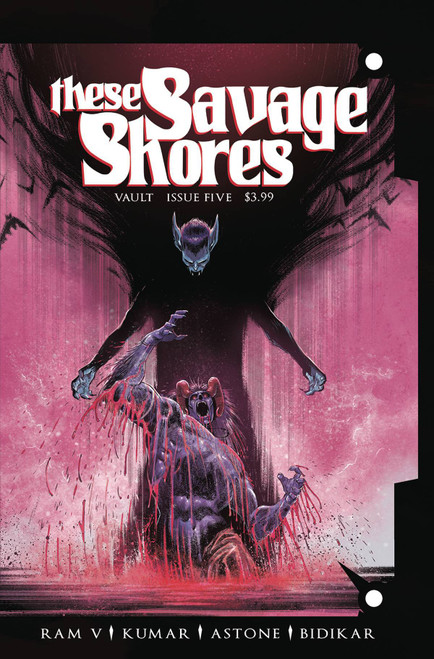 Vault Comics These Savage Shores #5 Comic Book
