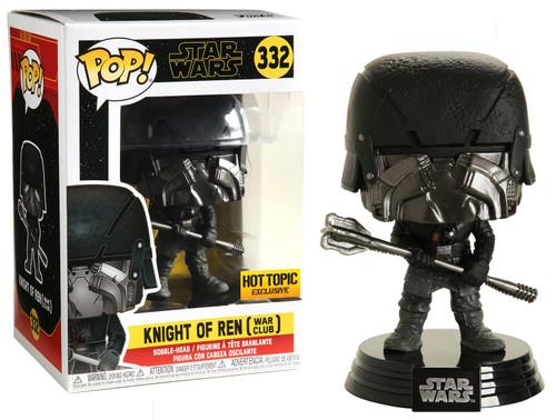 Funko The Rise of Skywalker POP! Star Wars Knight of Ren Exclusive Vinyl Figure #332 [War Club]