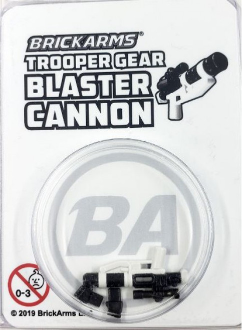 BrickArms Trooper Gear Blaster Cannon Minifigure Accessory [Overmolded]