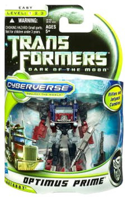 Transformers Dark of the Moon Cyberverse Optimus Prime Commander Action Figure