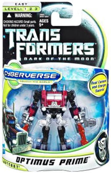 Transformers Dark of the Moon Cyberverse Battle Steel Optimus Prime Action Figure