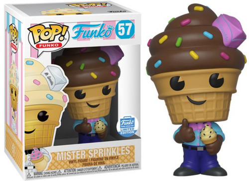 Funko Spastik Plastik POP! Mister Sprinkles Exclusive Vinyl Figure #57 [Chocolate, Damaged Package]