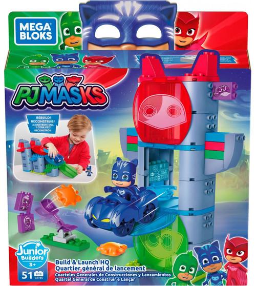 Mega Bloks Disney Junior PJ Masks Build & Launch HQ Set GKT85