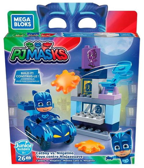 Mega Bloks Disney Junior PJ Masks Catboy vs. Ninjalino Set