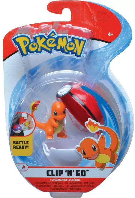 Pokemon Clip 'N' Go Charmander Figure Set