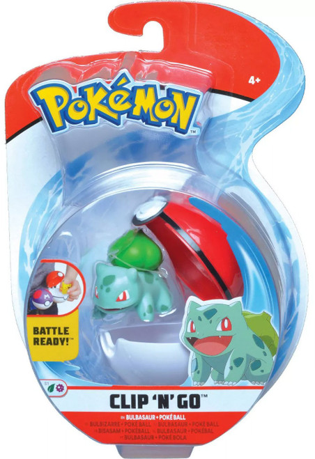 Pokemon Clip 'N' Go Bulbasaur Figure Set