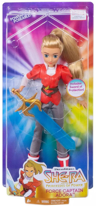 She-Ra and the Princesses of Power Force Captain Adora Doll [Damaged Package]