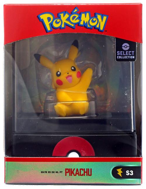 Pokemon Select Collection Series 3 Pikachu 2-Inch Mini Figure [Sitting, Waving]