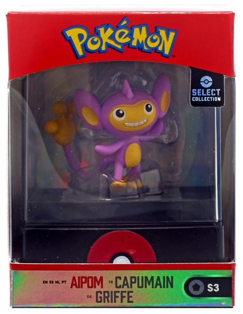 Pokemon Select Collection Series 3 Aipom 2-Inch Mini Figure