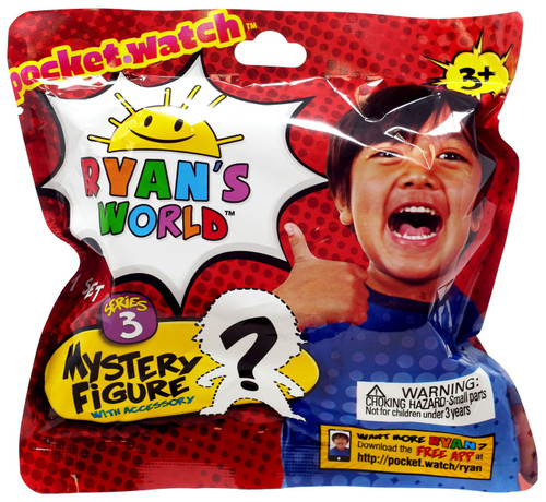 Ryan's World Mini Figure with Accessory Series 3 Mystery Pack