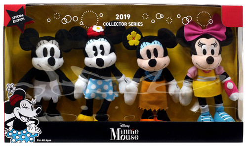 Disney 2019 Collector Series Minnie Mouse 8.5-Inch Plush Set