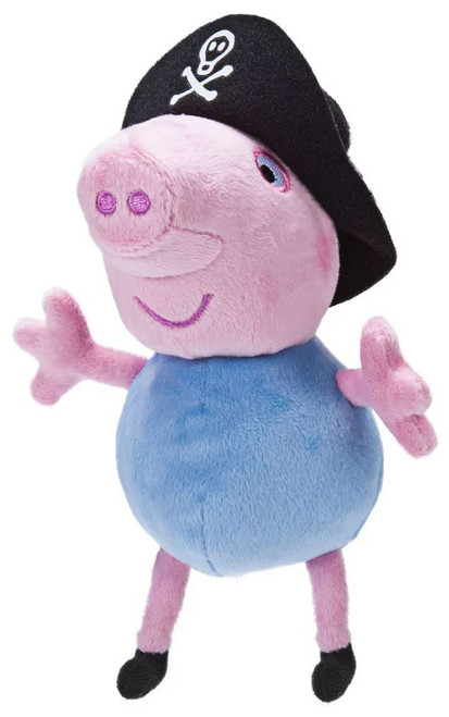 Peppa Pig Pirate George Pig 6-Inch Plush with Sound