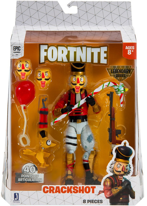 Fortnite Legendary Series Crackshot Exclusive Action Figure