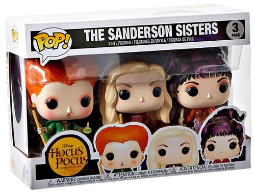 Funko Hocus Pocus POP! Disney The Sanderson Sisters Vinyl Figure 3-Pack