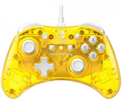 Nintendo Switch Rock Candy Pineapple Pop Video Game Wired Controller (Pre-Order ships January)
