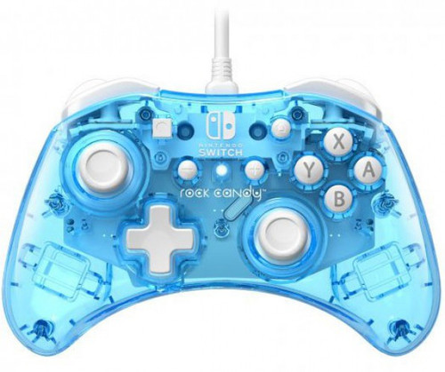Nintendo Switch Rock Candy Blu-merang Video Game Wired Controller (Pre-Order ships January)