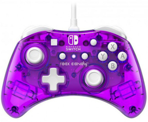 Nintendo Switch Rock Candy Cosmoberry Video Game Wired Controller (Pre-Order ships March)