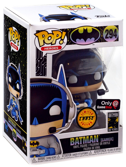 Funko DC Batman 80th POP! Heroes Batman Exclusive Vinyl Figure #294 [Gamer, Chase]