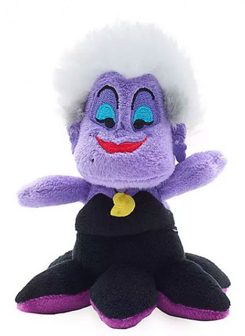 Disney The Little Mermaid Tiny Big Fins Ursula Exclusive 4-Inch Micro Plush