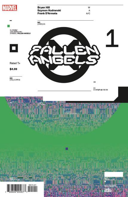 Marvel Comics Fallen Angels #1 Comic Book [Tom Muller Variant Cover]