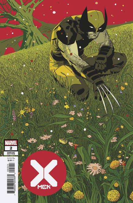 Marvel Comics X-Men #2 Comic Book [Marcos Martin Variant Cover]