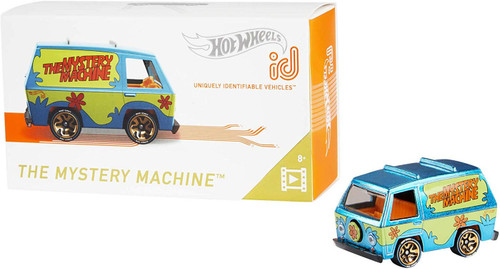 Hot Wheels Scooby Doo ID The Mystery Machine Diecast Car
