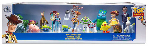Disney Toy Story 4 Exclusive 19-Piece PVC Mega Figurine Playset
