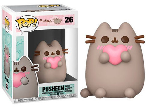 Funko POP! Pusheen Pusheen with Heart Vinyl Figure #26