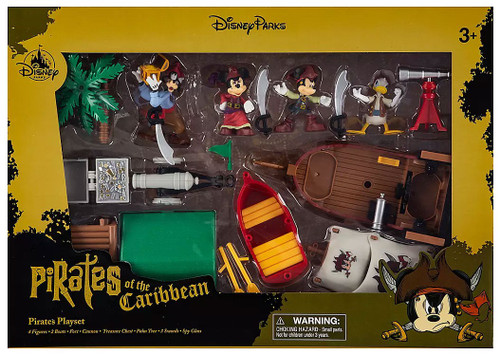Disney Pirates of the Caribbean Mickey Mouse Pirates Exclusive Playset [Version 2, Damaged Package]
