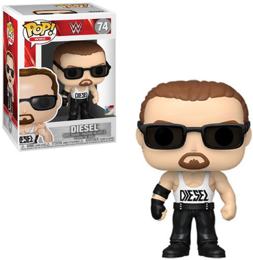 Funko WWE Wrestling POP! WWE Diesel Vinyl Figure #74 [Kevin Nash with Sunglasses, Regular Version]