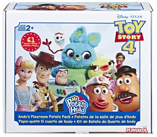Toy Story 4 Mr. Potato Head Andy's Playroom Potato Pack