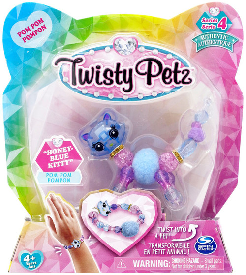 Twisty Petz Series 4 Honey-Blue Kitty Bracelet