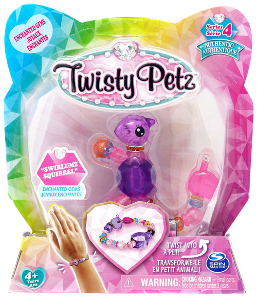 Twisty Petz Series 4 Swirlumz Squirrel Bracelet