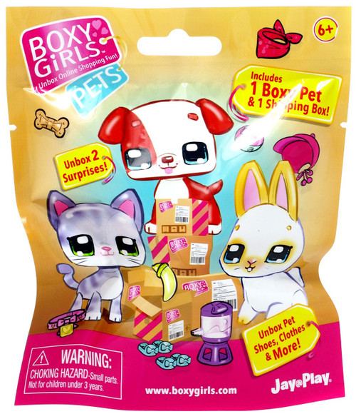Boxy Girls Pets Mystery Pack [1 Boxy Pet & 1 Shipping Box]