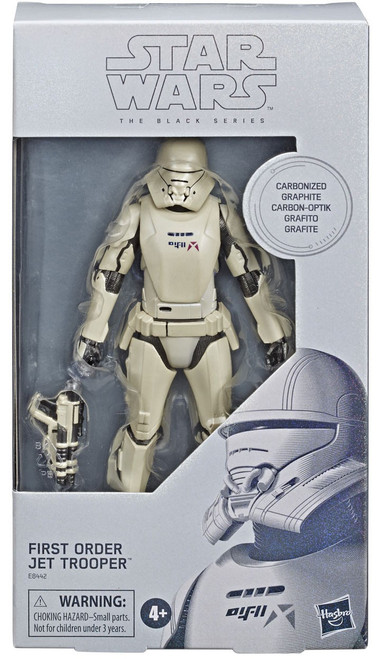 Star Wars The Rise of Skywalker Black Series First Order Jet Trooper Exclusive Action Figure [Carbonized Graphite, Metallic]
