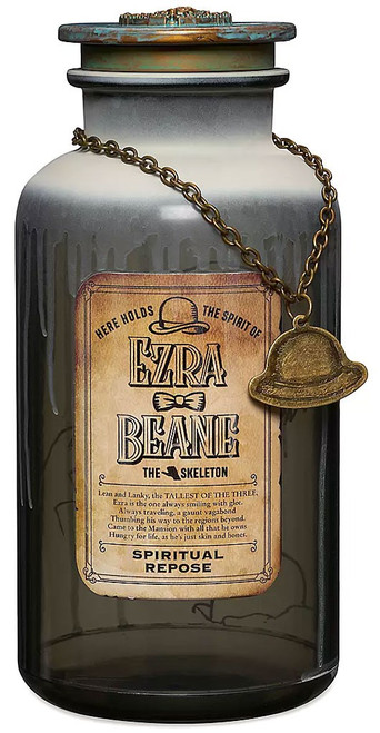 Disney Haunted Mansion Host a Ghost Ezra Beane Exclusive Spirit Jar