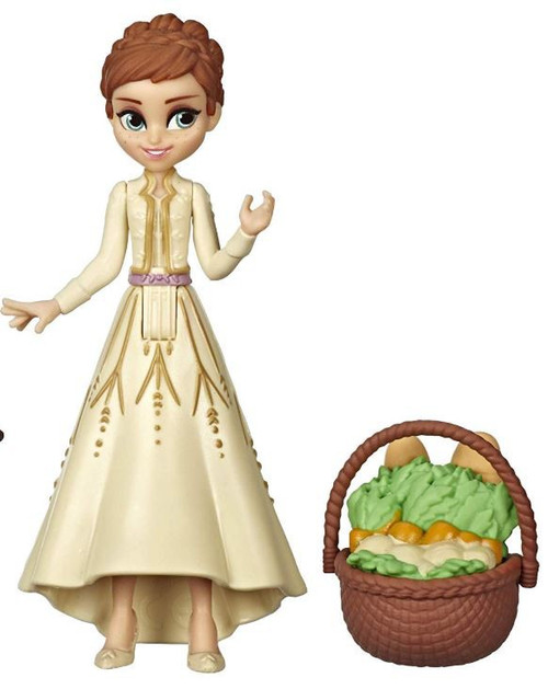 Disney Frozen 2 Frozen Adventure Collection Anna 4-Inch Figure [Tan Dress, With Basket Loose]