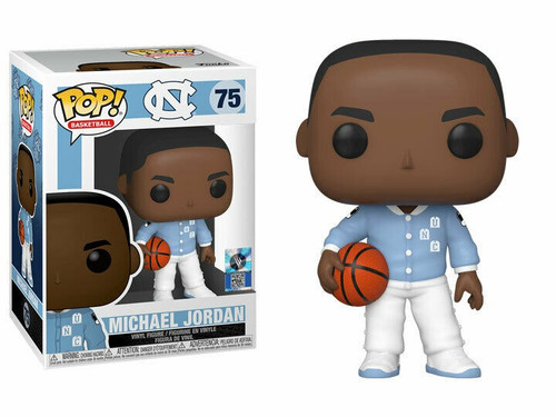 Funko University of North Carolina POP! Basketball Michael Jordan Vinyl Figure #75 [Warm Ups]