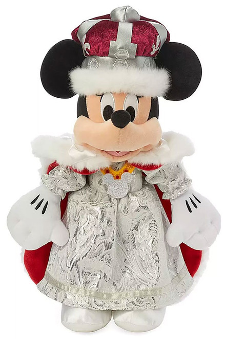Disney World Showcase Minnie Mouse Queen Exclusive 16-Inch Plush
