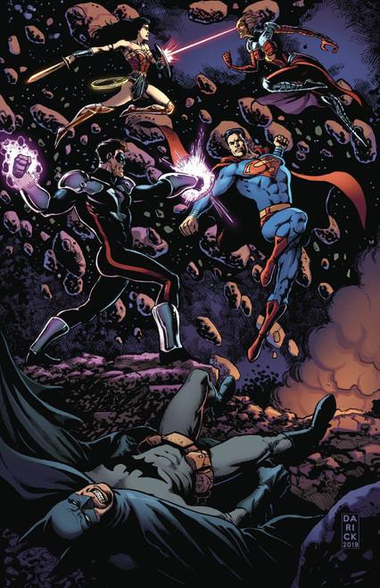 DC Green Lantern Blackstars #3 Comic Book [Darick Robertson Variant Cover]