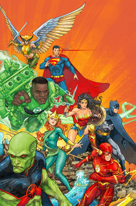 DC Justice League #39 Comic Book [Kenneth Rocafort Variant Cover]