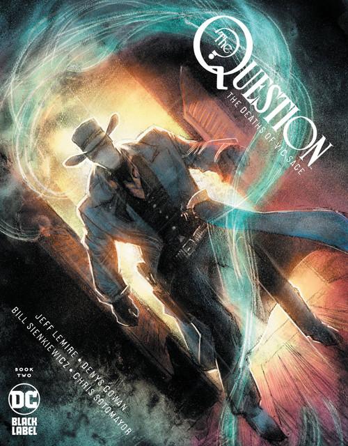 DC Black Label Question #2 The Death of Vic Sage Comic Book